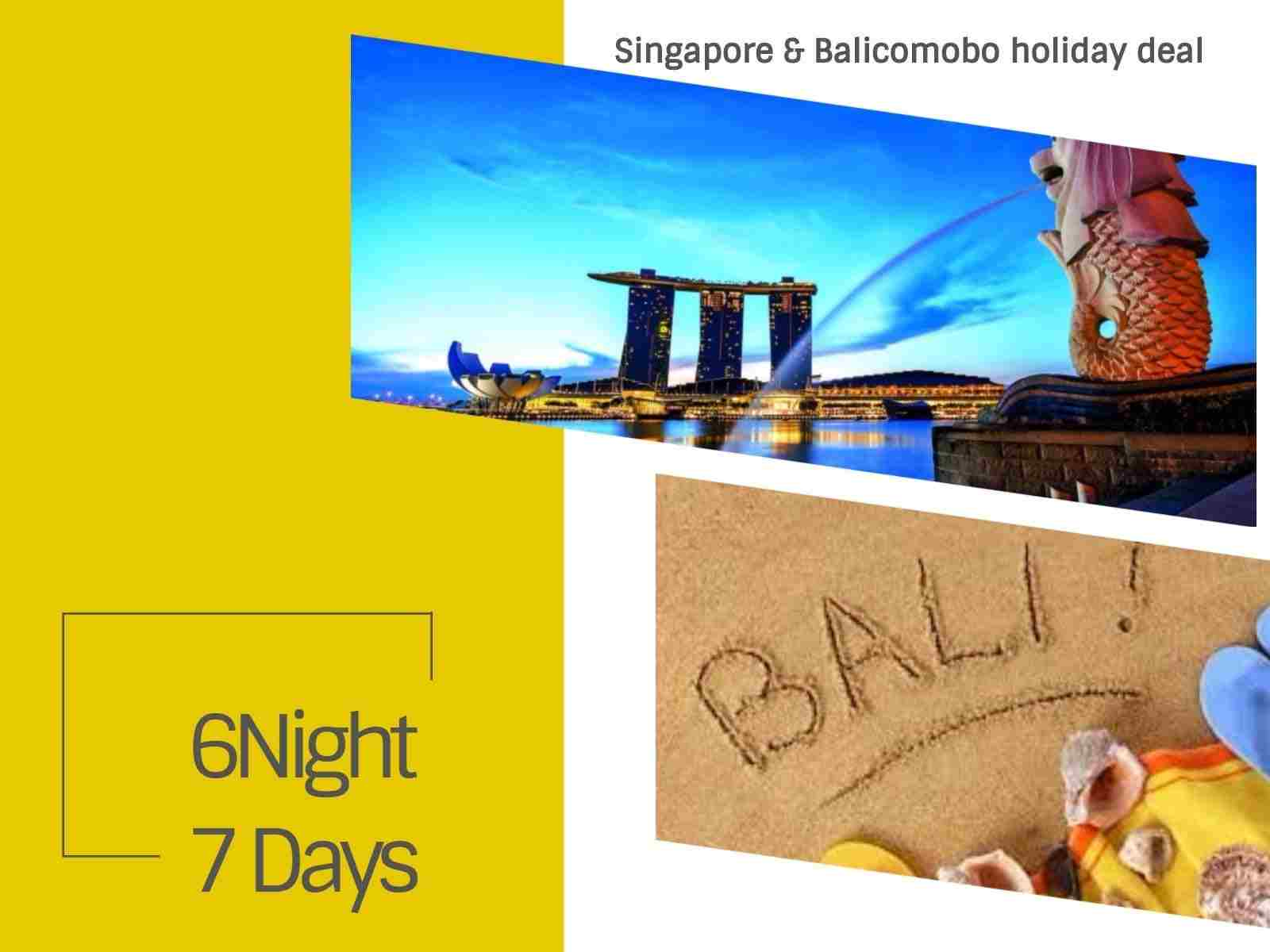 Singapore Bali Package with Flights